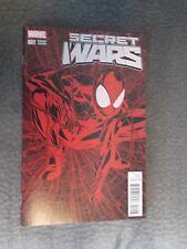 Secret War #1 Legacy Variants  Ultra Red and Color Covers By Mike McKeon .
