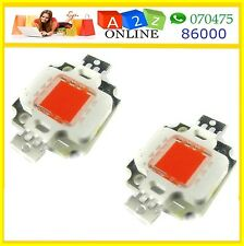 10W High Power LED Chip RED Color -2Piece