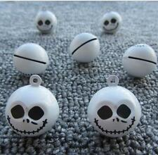 Lot Cartoon nightmare before Christmas white Bell  Decoration DIY pendants gifts