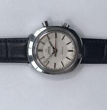 OMEGA GENEVE CHRONOSTOP Vintage Stainless Steel Mechanical Wristwatch 146.010