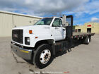 2000 GMC C7500 26' S/A Flatbed Stakebed Truck Non-CDL Caterpillar Diesel bidadoo