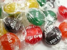 Sugar Free Fruit Buttons- Old Fashioned Hard Candy asstd Mix  - 1 lb made in usa