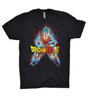 Dragon Ball Z Super T Shirt Goku Kaioken Blue God SSJ Vegeta Training Gym Anime