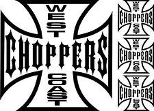 Sticker West Coast Choppers - 57x44 cm
