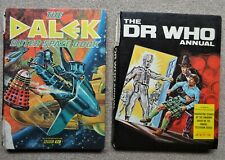 More details for 2 vintage bbc books the dr who annual 1968 & the dalek outer space book 1966