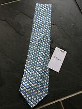 Paul Smith Classic Tie 9cm Blade Diamond Design 100 Silk Made in Italy
