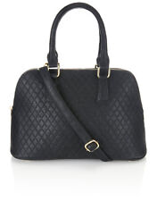 Accessorize Beautiful Women's Anita Quilted Zip Top Dome Bag/Handbag BNWT