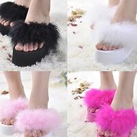 New Womens Wedge Heel Platform Thong Flip Flops Slipper Sandals Sexy Beach Shoes