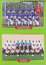 528 SQUADRA SAMPDORIA - SPEZIA CALCIO ITALIA - STICKER CALCIATORI 2015 PANINI