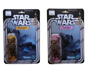 Custom Star Wars Uncle Owen & Aunt Beru Charred Remains Action Figure Novelty