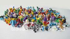 Pokemon Monsters Mini Figure Figurines Toys 48pcs Random Mixed Lot