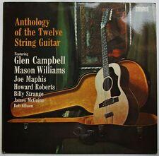 Anthology Of The Twelve String Guitar LP Glen Campbell Mason Williams Bob Gibson