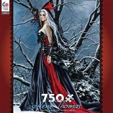 CEACO JIGSAW PUZZLE SHADOWS AND SNOW NENE THOMAS GOTHIC ROMANCE 750 PCS #2993-17