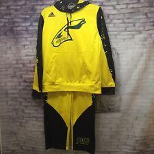 Adidas Youth Long Beach State Jackrabbits Pullover Hoodie/Pants Sz. YL SnoopDog