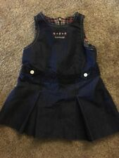 Baby Girl Tommy Hilfiger Classic Sleeveless Top Blue Dress Size 6 to 12 Months
