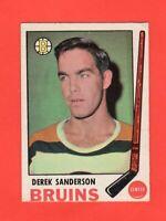 1969-70 OPC  # 201  Derek Sanderson exmt-nrmnt