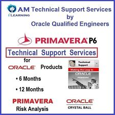 ☎ Primavera P6 Risk Analysis Crystal Ball Technical Support by Oracle Engineers