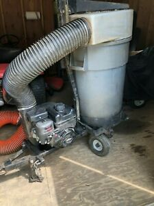 Trac Vac Model 452-IC/H/K/LH Towable Lawn Vacuum With New $800 B&S 5.5HP Engine