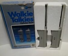 AT&T Walkie Takies Cellular Phone Style Playtime Solid State Amplifier Vintage