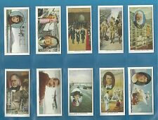 Churchman cigarette cards - PIONEERS - Full mint condition set.