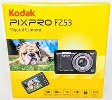 New in Box - Kodak PIXPRO FZ53 16 MP Digital Camera - BLUE - 819900012583