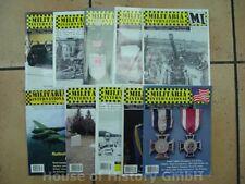 108808, 10 Hefte MILITARIA INTERNATIONAL MAGAZINE, verschiedene Jahrgänge
