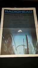 Radiohead Street Spirit Rare Original U.K. Promo Poster Ad Framed!