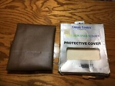 Vintage NOS Apple II Dust Cover Leather Classic Covers Omicron Rare Perfect!!