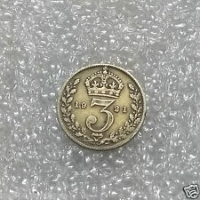 1921~~UK KINGDOM~~3 PENCE~~Potrait of George V ~~Silver Coin~~Collectors Coin