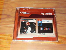 RAY CHARLES - WHAT'D I SAY & SAME (2IN1) / 2-CD-SET 2008 OVP! SEALED!