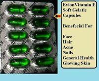Vitamin E Evion 400 mg Capsules by MERCK FACE HAIR SKIN NAILS ANTIOXIDANT!!!!