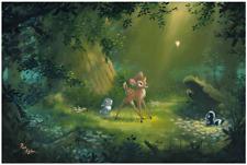 Disney Fine Art Limited Edition Canvas The Beauty of Life-Bambi- Rob Kaz