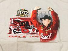 2004 DALE EARNHARDT JR BUDWEISER Racing Daytona 500 Champion T Shirt Large NIP