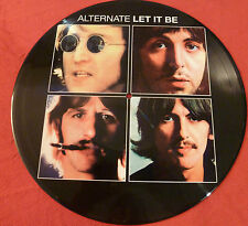 LP..THE BEATLES. PICTURE .ALTERNATE LET IT BE / INEDIT DEMOS / FAN CLUB / 500 CO