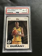 Kevin Durant 2007-08 Topps #2 - Rookie - (PSA 8)