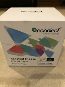 *NEW* Nanoleaf Shapes - Mini Triangles Expansion Pack (10pk) - Multicolor