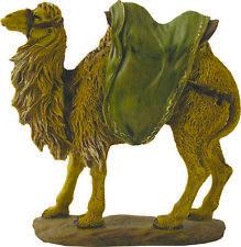 Krippenfiguren Krippenzubehör Tiere Kamel handbemalt Abm. 12,5/12/4,5 cm