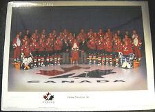 TEAM CANADA 1996 LICENSED WORLD CUP PHOTO LE JOE SAKIC MARK MESSIER GRETZKY
