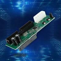 PATA IDE TO SATA Converter Adapter 7+15 Pin 3.5/2.5 Plug&Play HDD DVD SATA T5Z4