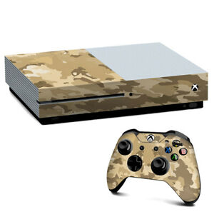 Xbox One S Console Skins Decal Wrap ONLY Brown Desert Camo camouflage