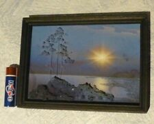"""VINTAGE PICTURE """"KARELIA"""" VOLUME WITH SPRAY SIZE IN THE FRAME 4.17 """"x 5.71"""""""