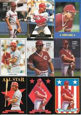 CHRIS SABO NICE (18) CARD ODDBALL BRAND CARD LOT SEE SCANS FREE COMBINED S/H