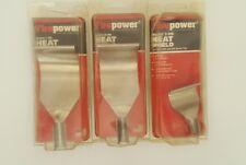 Set of (3) FirePower Heat Shields-NOS USA