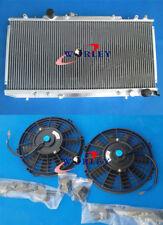 Aluminum radiator + Fan for TOYOTA CELICA GT4 3S-GTE ST185 1990-1994 1991 1992