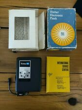 Vintage Vivitar Electronic Flash 91 in Box Camera Accessories - Free Shipping!