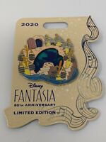 Fantasia  80th Anniversary Sorcerer Mickey Brooms LE Disney Pin