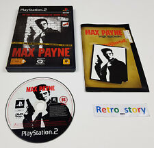 PS2 Max Payne PAL