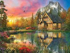 Jigsaw puzzle Landscape Village Life Breath of Fresh Air 500 piece NEW