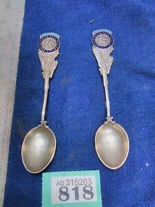 2x HMS Excellent Spoon