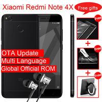 "Xiaomi Redmi Note 4X Smartphone 5.5"" MTK Helio X20 Deca Core Touch ID 4GB 64GB"